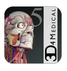 App: Anatomy of the human body in 3D